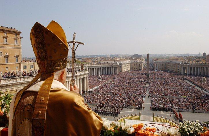ватикан фото папа римский плозадь святого петра