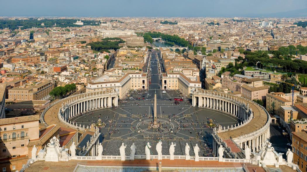 достопримечательность ватикана площадь святого петра