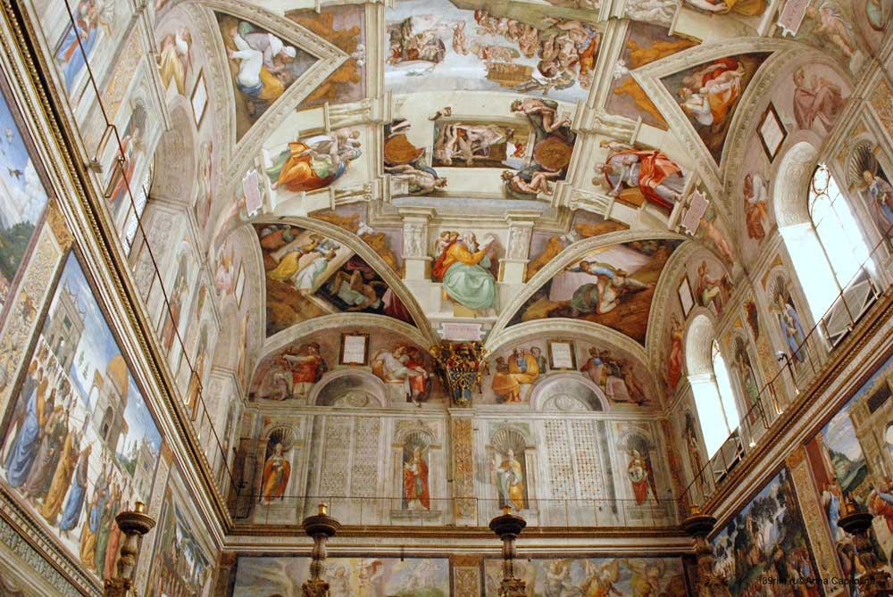 достопримечательности ватикана фото сикстинской капеллы