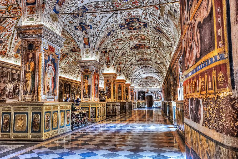 достопримечательность ватикана музеи