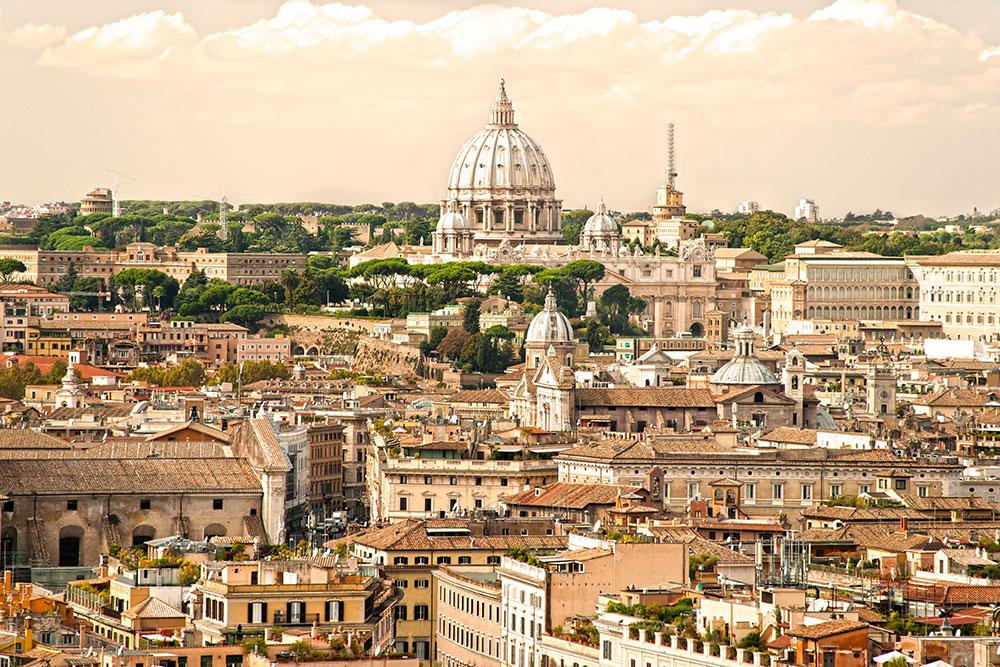 Рим Собор святого петра панорама ватикан фото