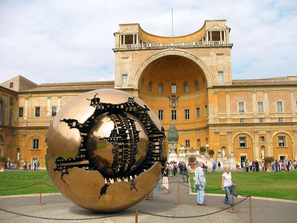 музеи ватикана фото внутренний двор