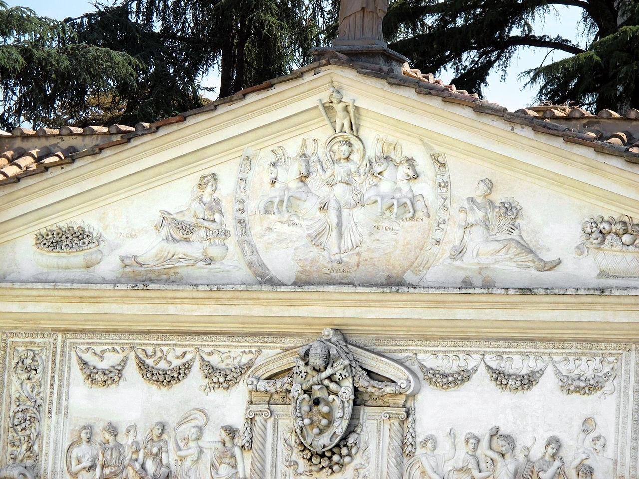 достопримечательности ватикана фото вила пия сады ватикана