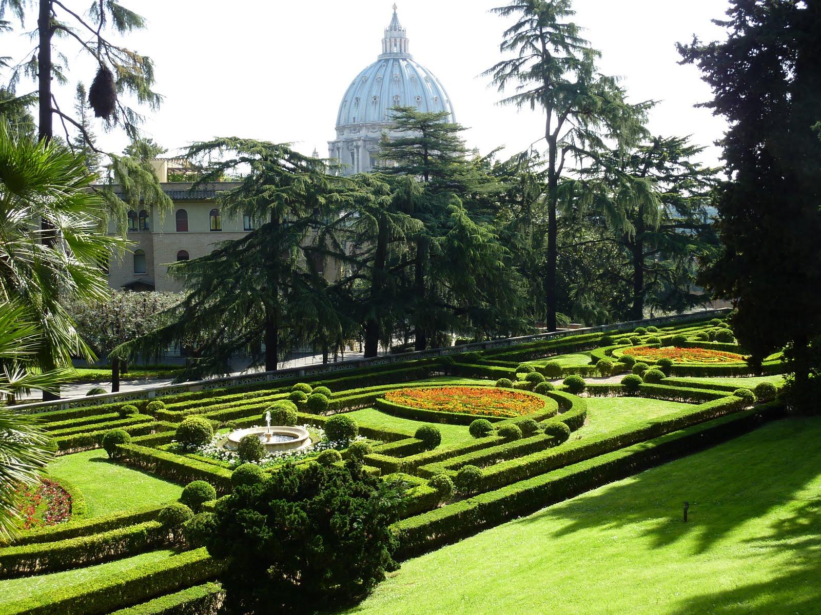 Сады Ватикана фото