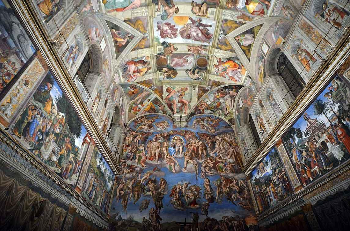 сикстинская капелла, музеи ватикана, musei vaticani, capella_di_sistina_raffaello