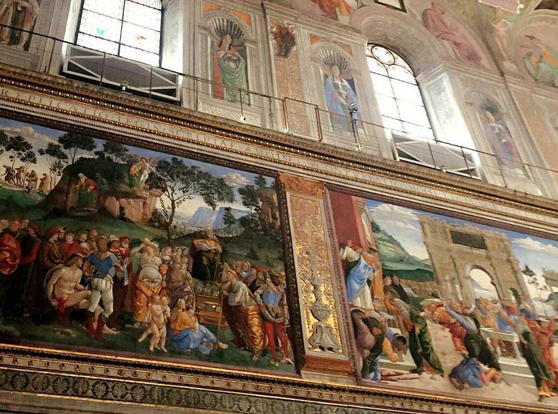 сикстинская капелла ватикан фрески