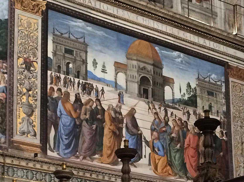 сикстинская капелла в ватикане фрески