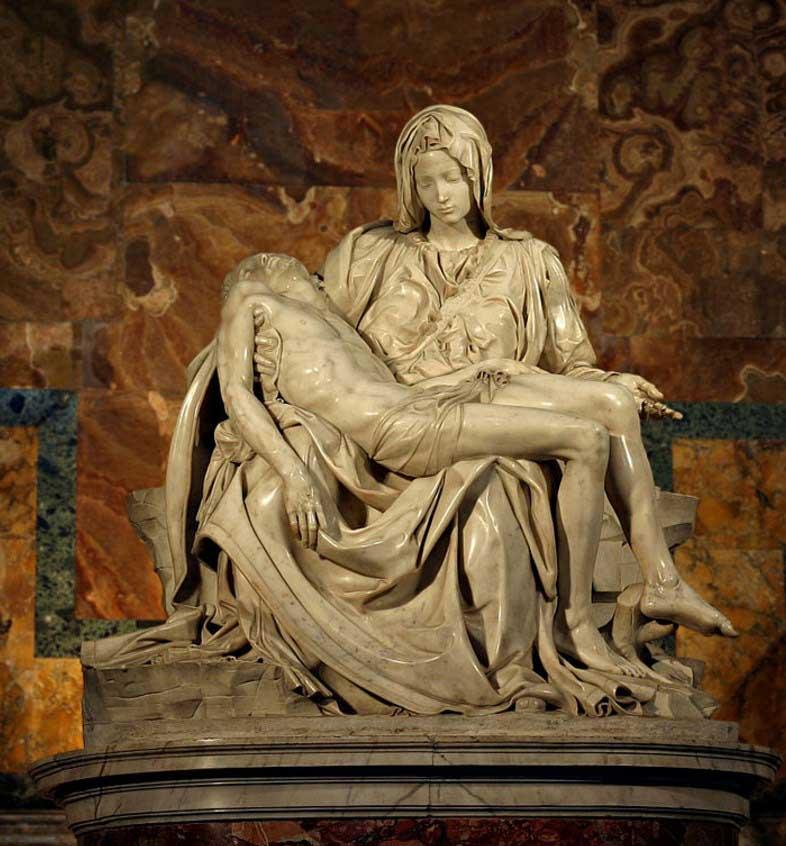 пьета микеланджело , скульптуры рима