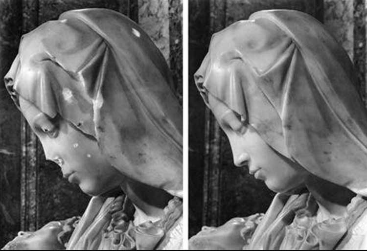 Image result for Микеланджело пьета вандализм
