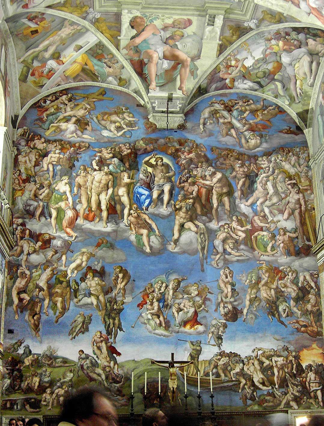 микеланджело страшный суд, Last judgement