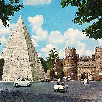 Пирамида Цестия – откуда в Риме появилась древнеегипетская усыпальница