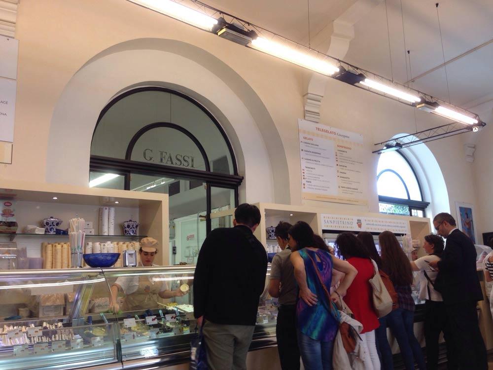 джелатерия рим итальянское мороженое