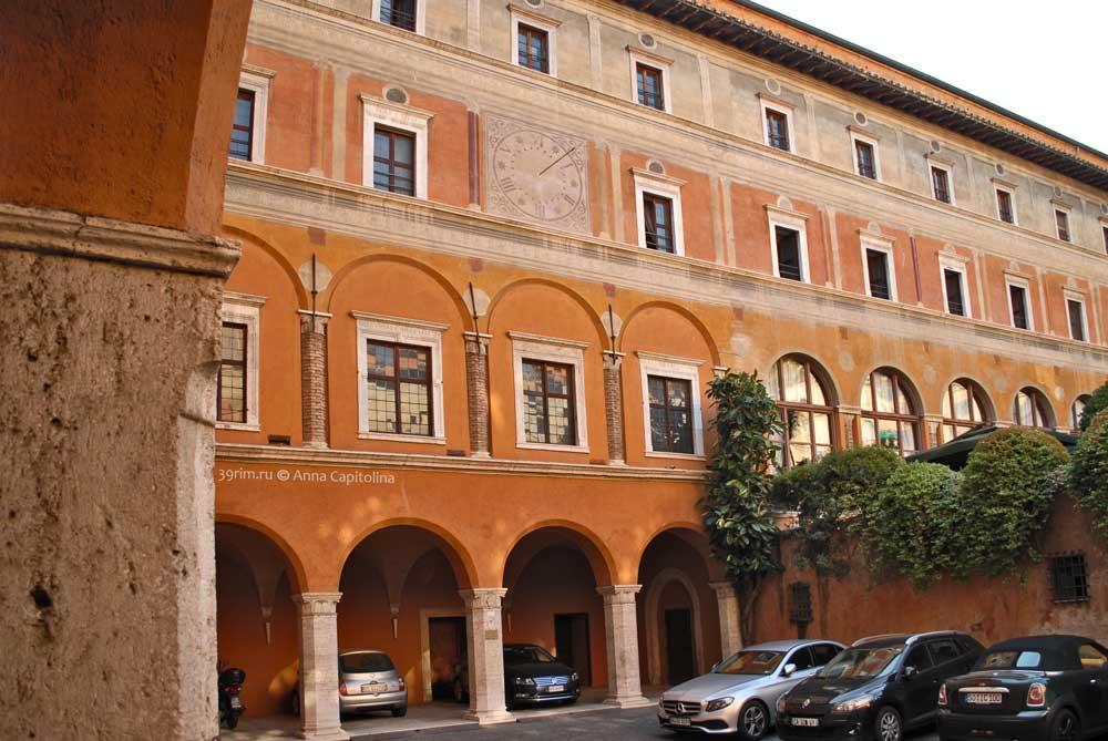 Улицы Рима, Палаццо деи Пенитенциери