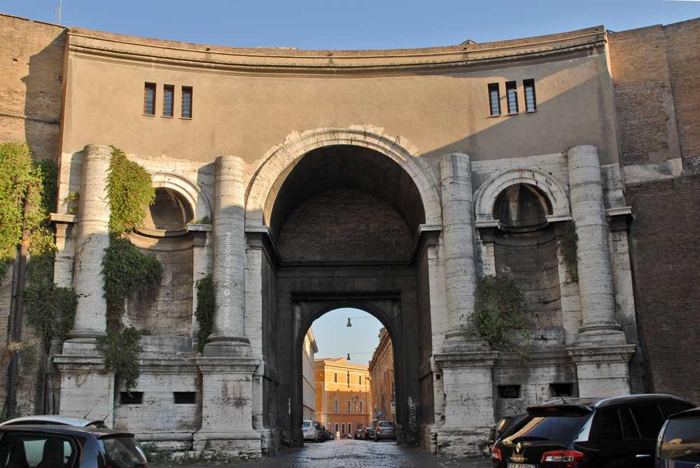 Улицы Рима, Порта Санто Спирито