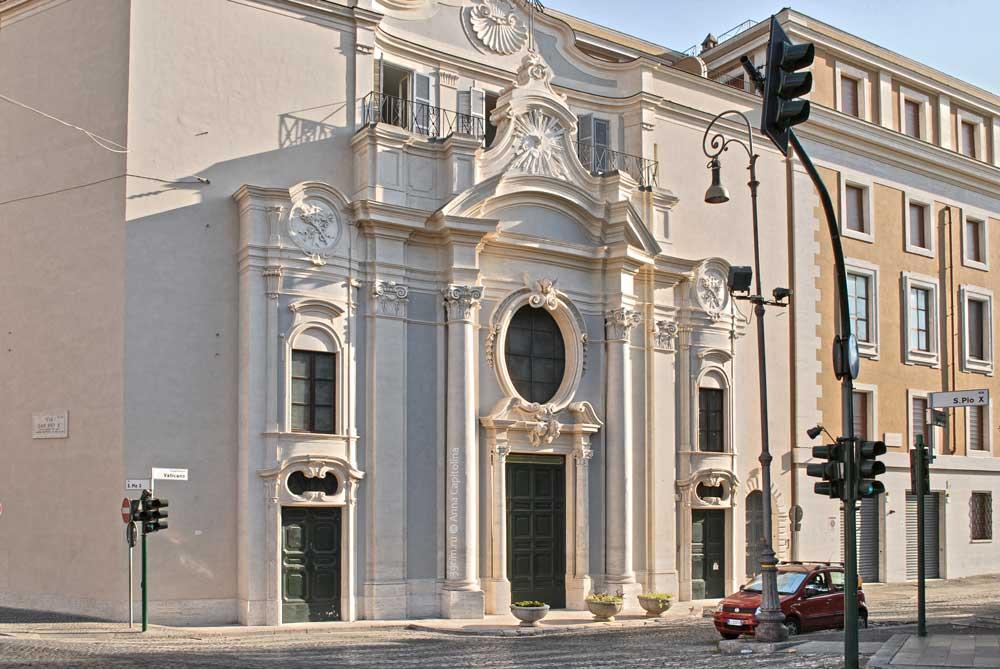Базилика Санта Мария Аннунцьята ин Борго