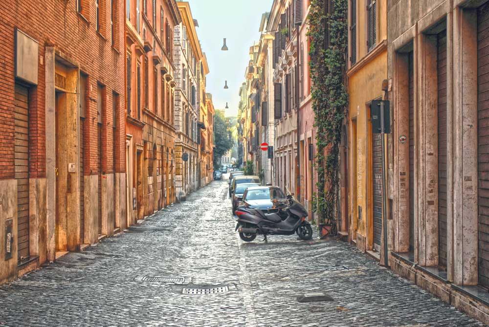 Рим, улицы, Borgo