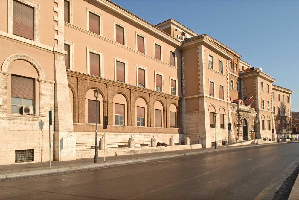 Улицы Рима, Госпиталь Санто Спирито ин Сассия