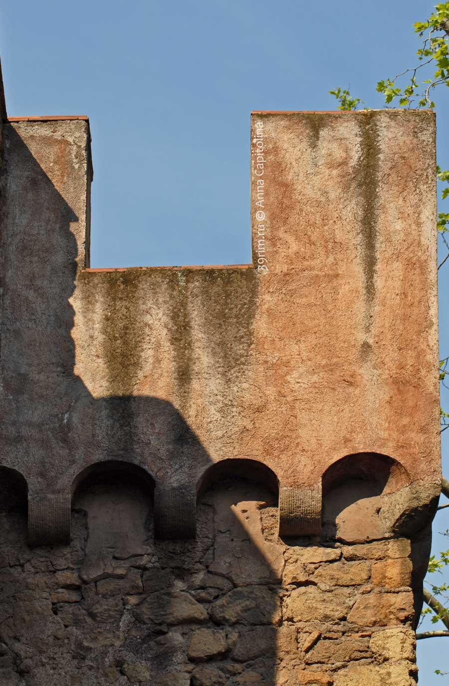 Passetto пассетто стена