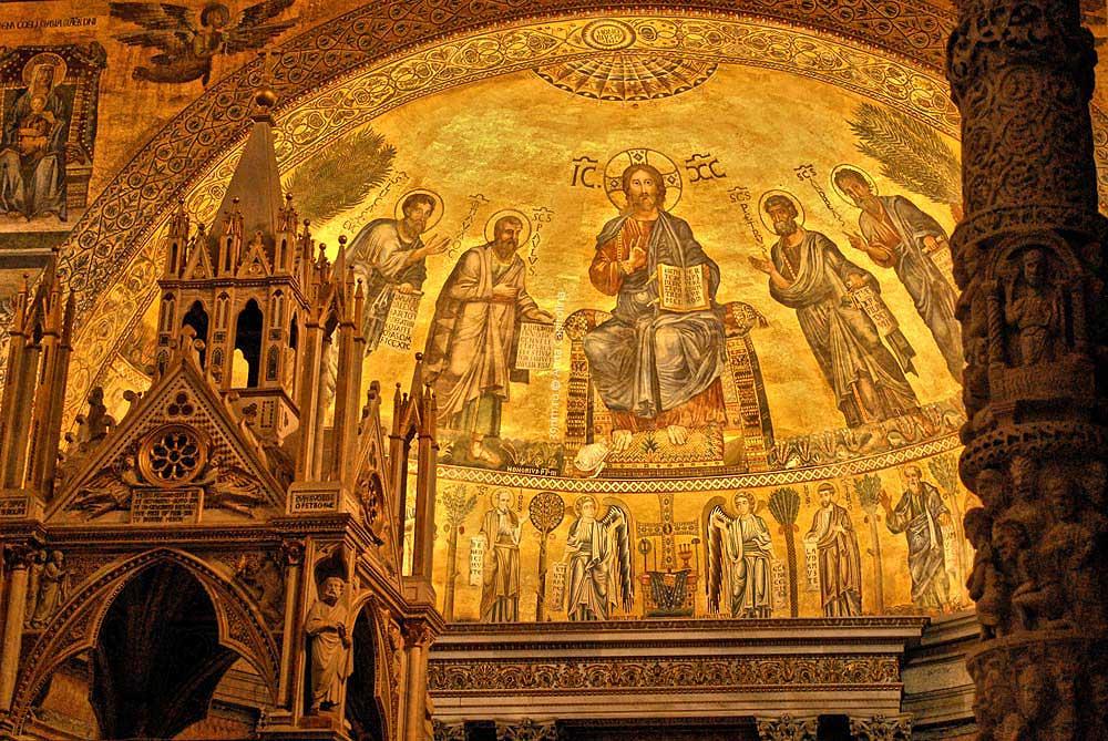 Базилика Святого Павла апсида