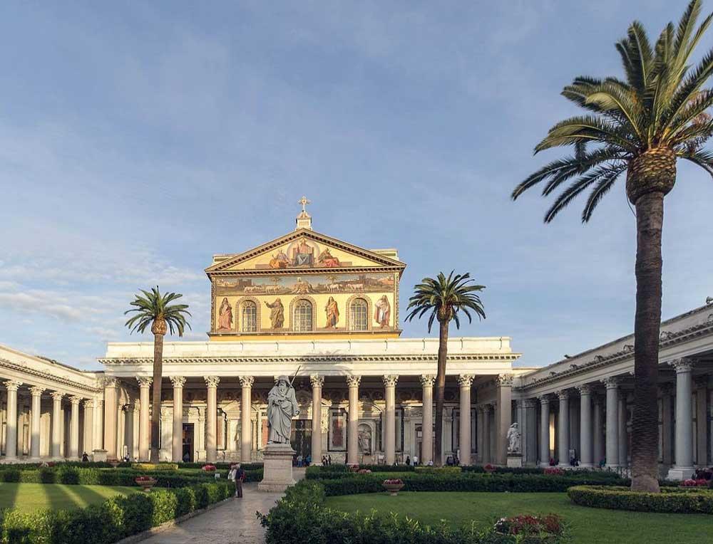 Базилика Святого Павла, папаская базилика