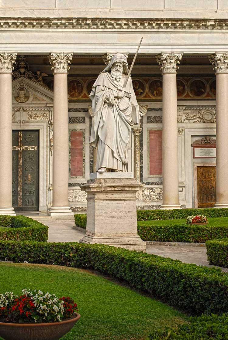 Святой Павел, скульптура святого павла рим