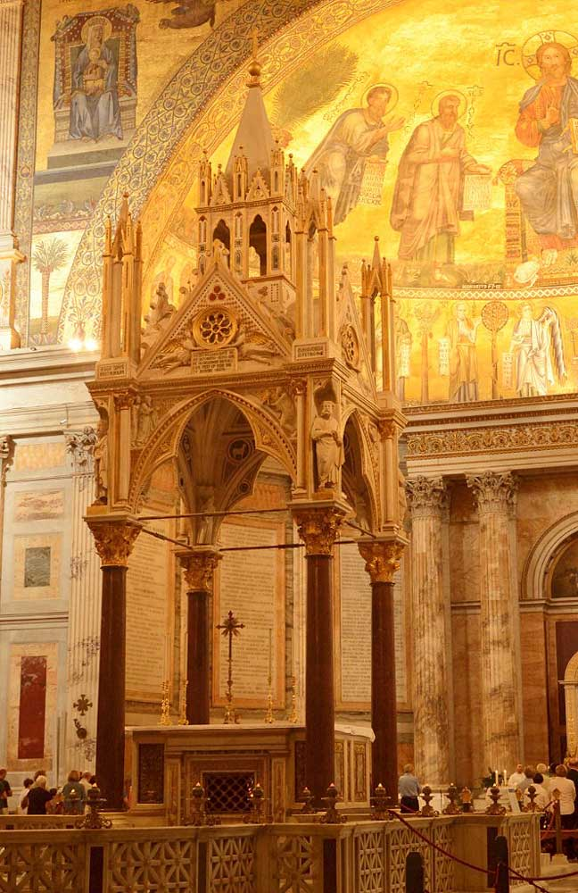 киворий Базилика Сан Паоло