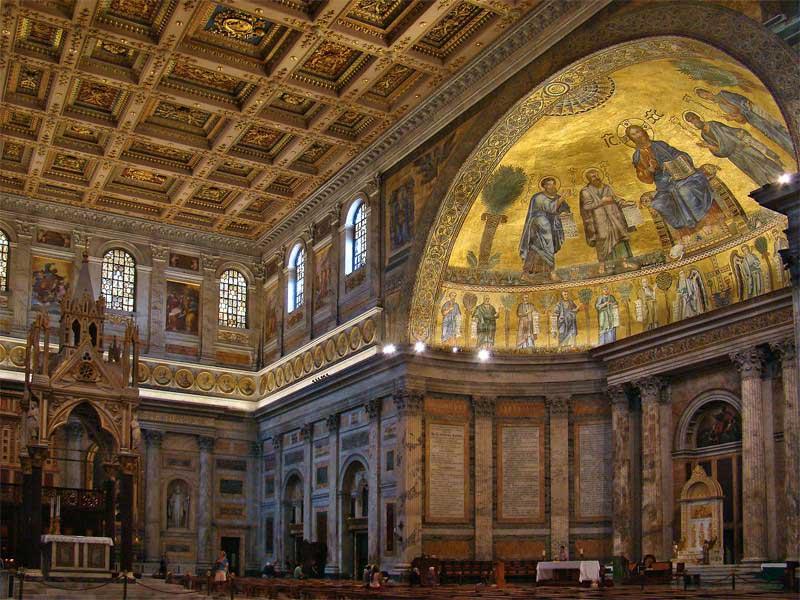 Апсида  Базилика Святого Павла