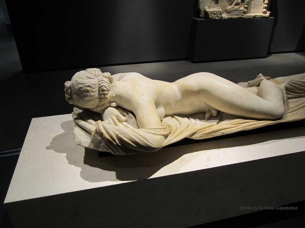 Спящий Гермафродит, знаменитые скульптуры рим