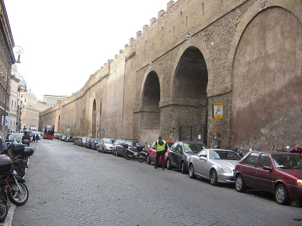 Пассетто, Рим, Passetto
