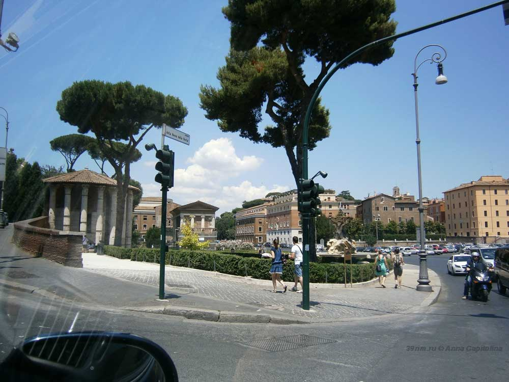 Площадь, уста истины, Piazza bocca della verita