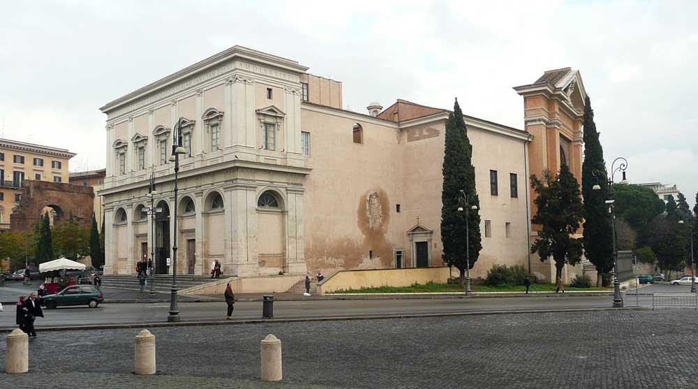 Святая лестница, scala santa, рим