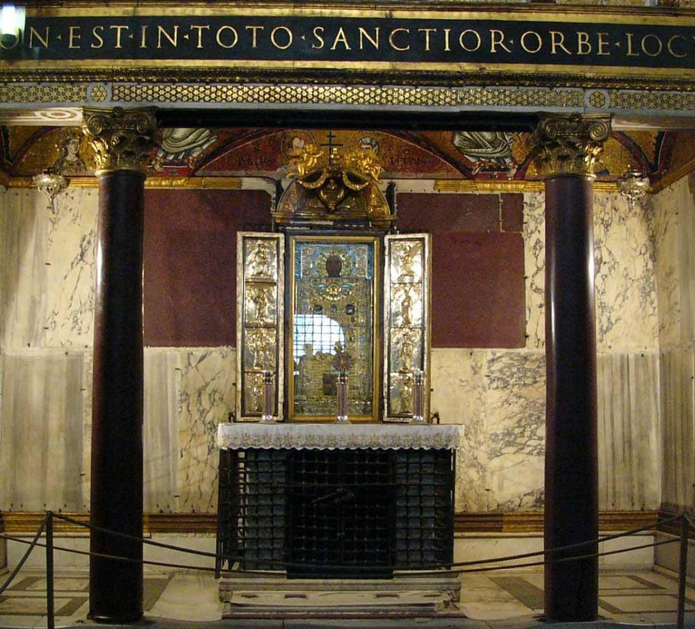 Алтарь, Святая Святых, часовня, Sancta_Sanctorum