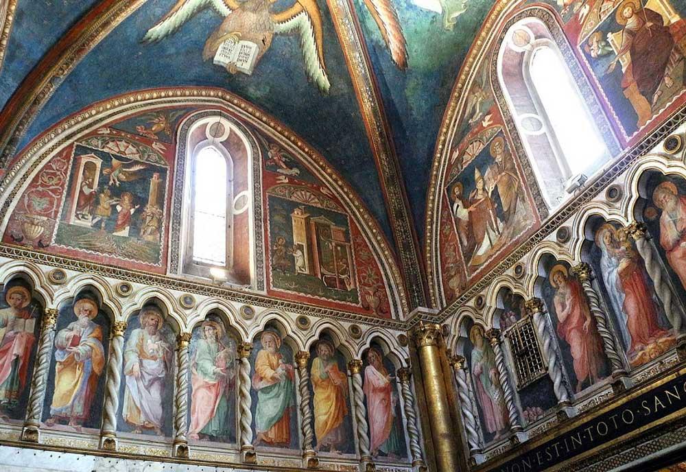 Фрески, Святая Святых, Sancta_Sanctorum