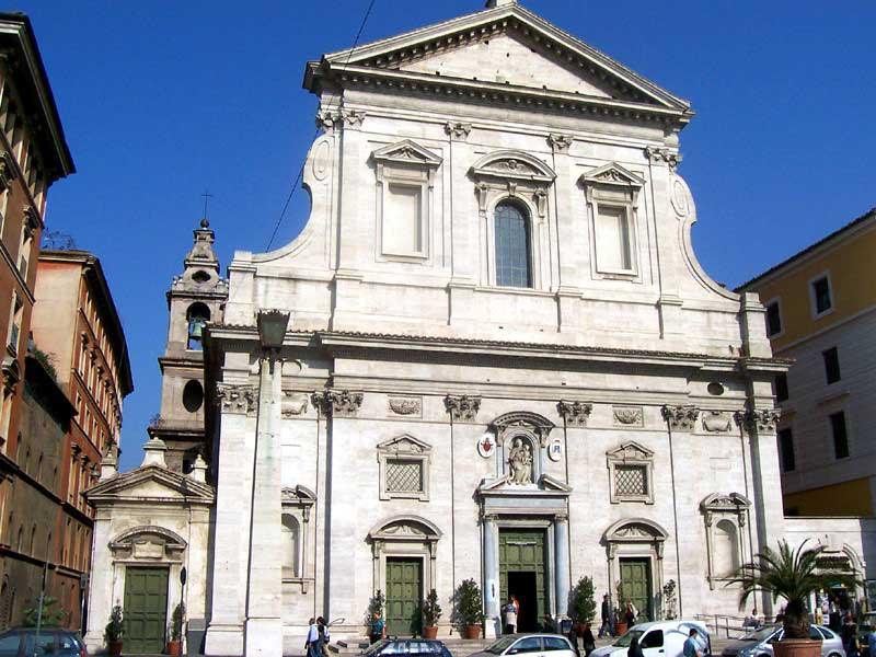 Улицы Рима, Санта Мария ин Транспонтина, Santa_Maria_In_Traspontina