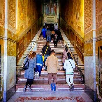 святая лестница, священная лестница