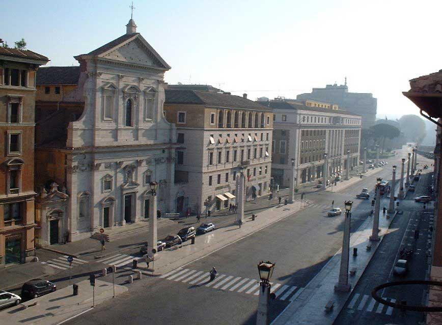 Рим, улица Примирения, Via della Conciliazione