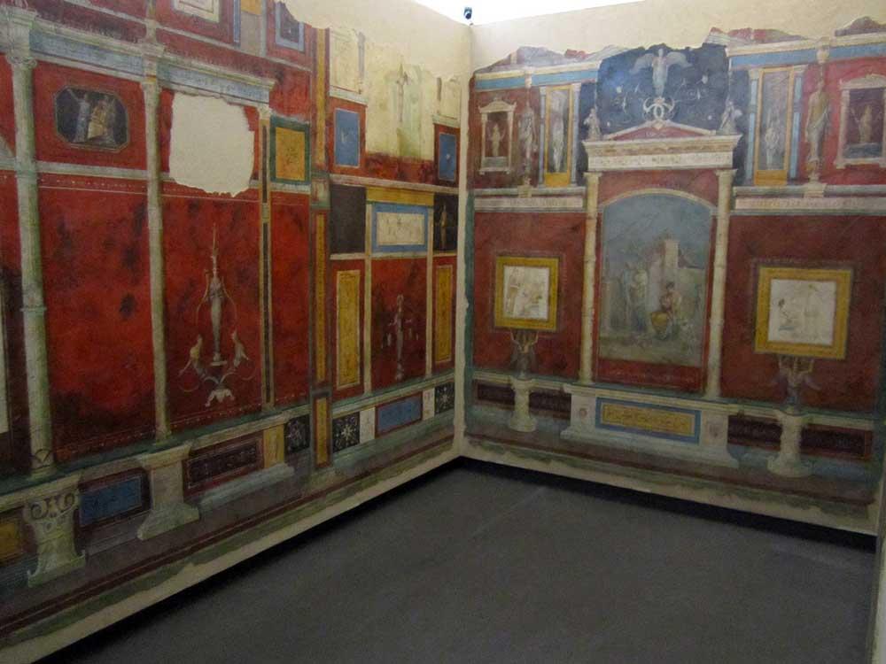 вилла ливия фрески