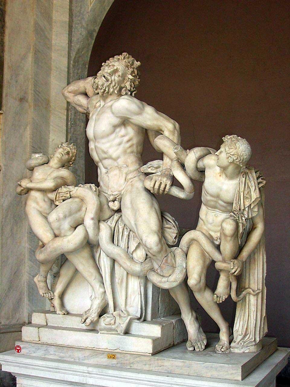 Лаокоон скульптура , знаменитые скульптуры рим