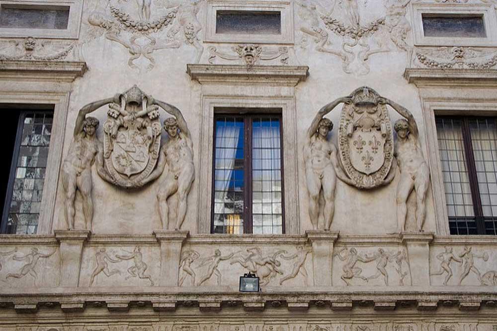 фасад Палаццо Спада