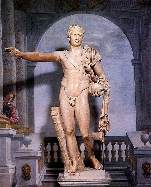 Статуя Помпея, Палаццо Спада