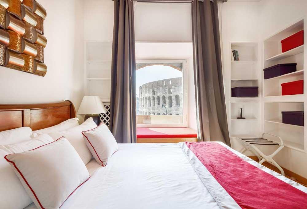 Апартаменты с видом на Колизей