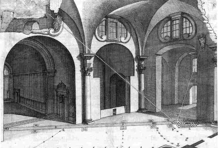 Меридиан, Meridiana, Santa Maria degli Angeli e Martiri