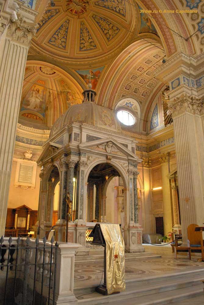 Базилики Рима, церкви Рима, христианская церковь в Риме