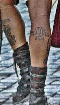 татуировки, tatoo_civis_romanus