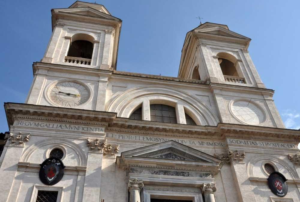 Тринита деи Монти, Солнечные часы, trinita_dei_monti