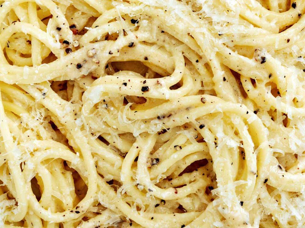 cacio e pepe традиционное блюдо Рима