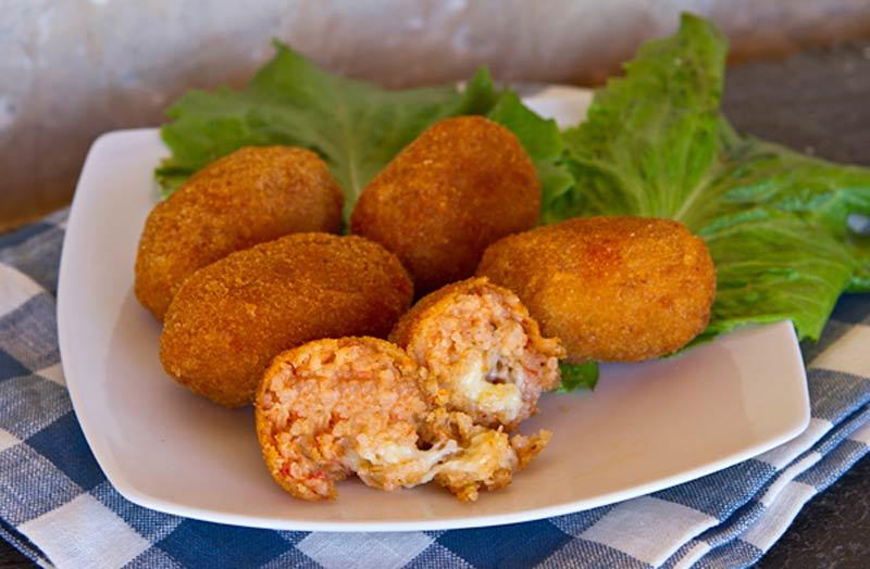 suppli традиционная итальянская кухня