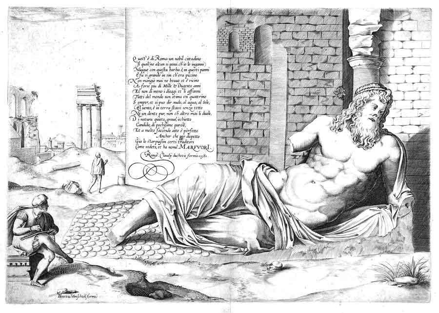 Морфорио на римском форуме