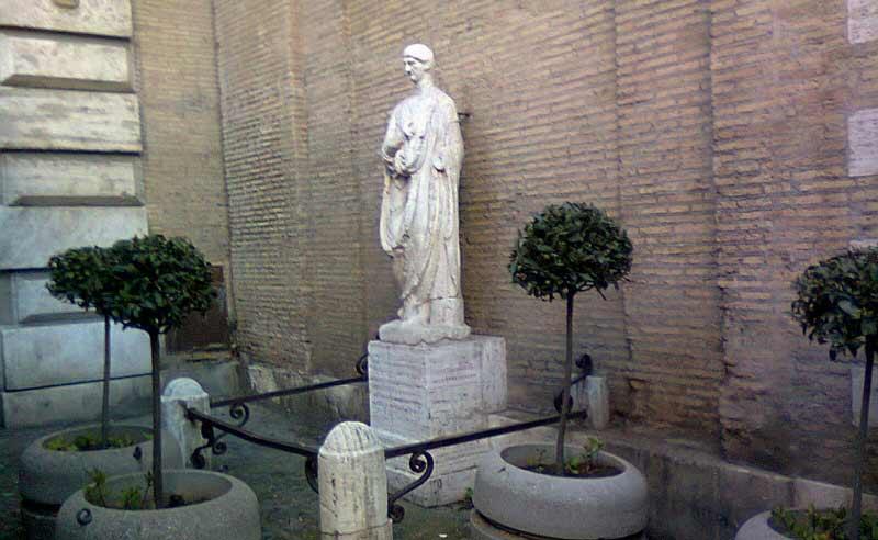 Аббат Луиджи говорящая статуя в риме