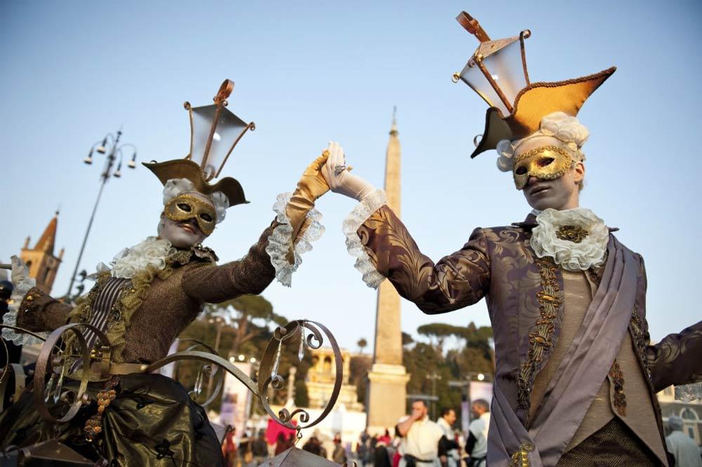римский карнавал, карнавал в риме